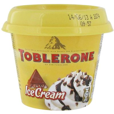 Creme glacee TOBLERONE, 185ml