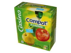Compot? pomme allegee