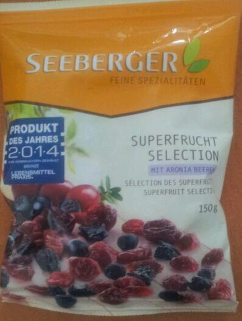 Seeberger Superfruit Selection le sachet de 150 g