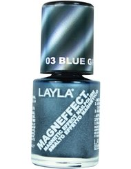 Layla Cosmetics Milano Vernis à Ongles Magneffect Blue Gray Flow 10 ml