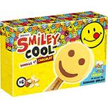 Glaces Smiley Cool vanille et chocolat