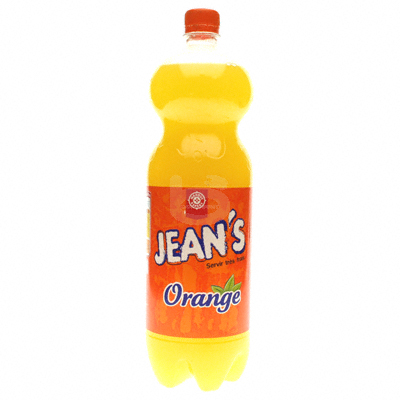 Leclerc Soda Jean's orange 1.5l