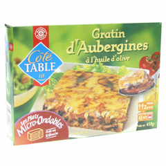 Gratin d'aubergines Cote table 450gr