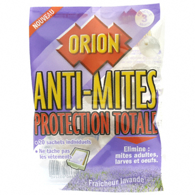 Anti-mites Orion Protection totale x20