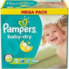 Pampers baby dry mega t6 + x64