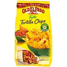 OLD EL PASO APERITIF CHIPS TORTILLAS CHIPS CLASSIQUE FAJITAS 200G STD