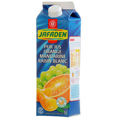 Jus Jafaden Orange mandarine raisin 1l