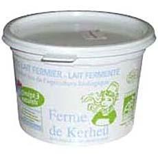 yaourt gros lait ferme de kerheu pot de 500g tous les produits yaourts natures prixing. Black Bedroom Furniture Sets. Home Design Ideas