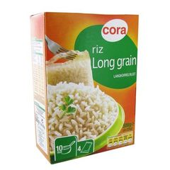 Riz long grain en sachet