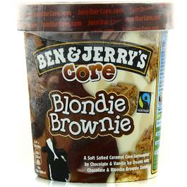 Ben&Jerry's pot blondie brownie 500 ml