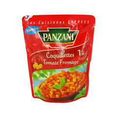 Coquillettes tomate fromage PANZANI, 200g