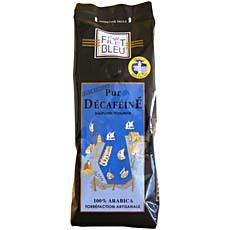Cafe pur arabica decafeine Filet Bleu, 250g