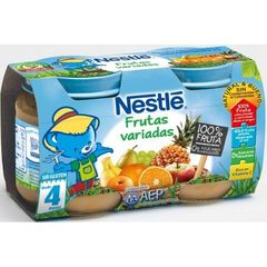 BEBE NESTLE Assortiment de fruits 2x130 G
