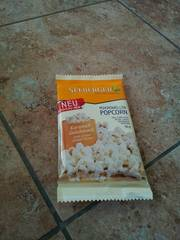 Pop corn micro ondable goût caramel, sachet 90g