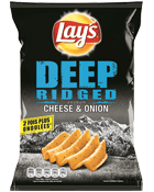 Deep Ridged Cheese & Onion