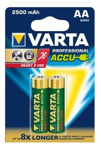 Varta - Piles rechargeables Professional AA (HR06) 2600mAh (2-pack)