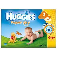 Huggies couches bebe taille 3