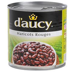 Haricots rouges D'AUCY, 250g
