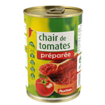 Auchan chair de tomates preparee 400g