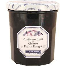 Confiture Extra de 4 fruits rouges ALBERT MENES, 370g