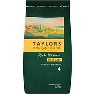 Taylors of Harrogate Half Caffeine Rich Italian Ground Coffee 227g (Pack of 3)