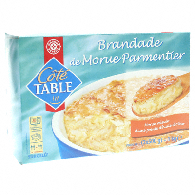Brandade morue Cote Table 1kg