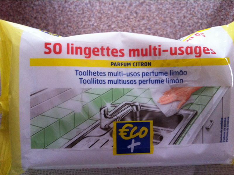 Lingettes multi-usages Eco+ Citron x50
