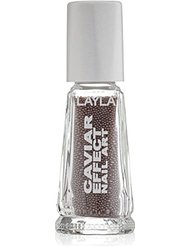 Layla Cosmetics Milano Vernis à Ongles Caviar Effet 5 5 ml