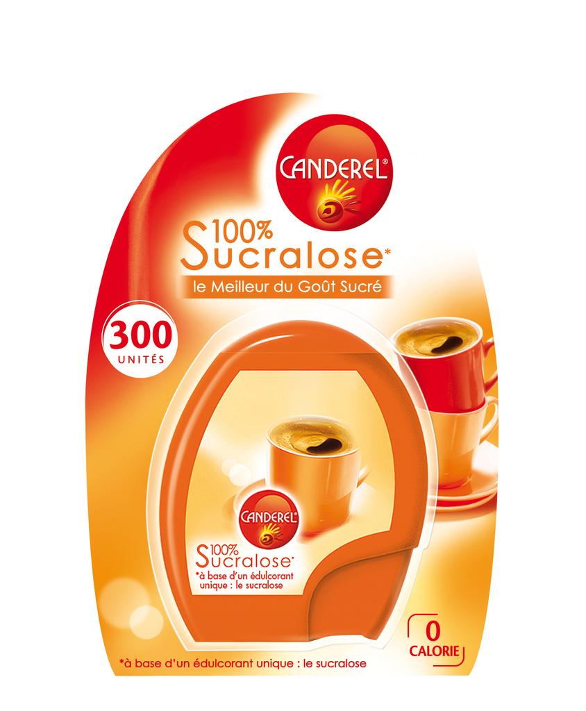 Edulcorant sucralose Canderel Briquet x300