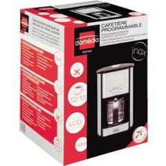 Domedia kitchen, Cafetiere programmable inox electrique, l'unite