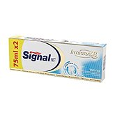 Signal Integral 8 White Dentifrice 2 Tubes de 75 ml - Lot de 3