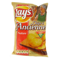 Chips à l'ancienne nature Lay's