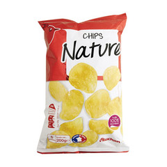 Chips nature A l'huile de tournesol.