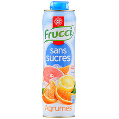 Sirop agrumes Frucci Sans sucre 75cl