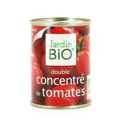 Double concentre de tomates bio