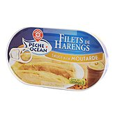 Filets harengs Pêche Océan Sauce moutarde 190g