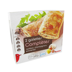 Auchan galettes completes x2 -240g