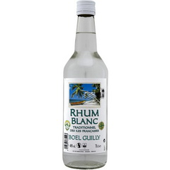 Rhum blanc traditionnel Iles Francaises