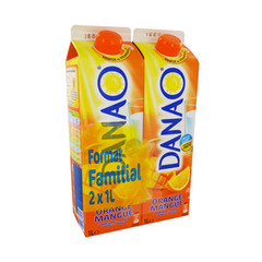 Danao orange mangue 2x1l