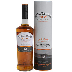 Whisky 12 ans Bowmore 40D 70cl