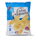 Auchan chips extra craquantes huile tournesol 150g