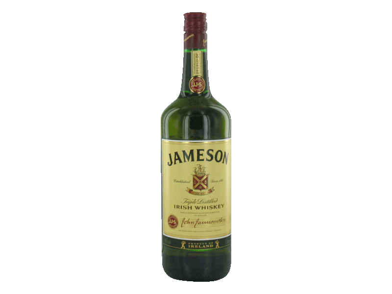 Jameson irish whiskey 100cl 40%vol