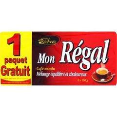 Le Bonifieur, Cafe moulu, Mon Regal, le paquet de 4 x 250g