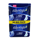 serviettes ultra nuit jumbo pack x20 always