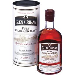 Glen Crinan, Scotch Whisky Pure Highland Malt, la bouteille de 70 cl