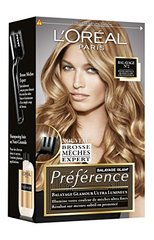 Preference coloration glam blonde balayage n2