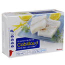 Auchan portion de filet de cabillaud x10 - 1kg