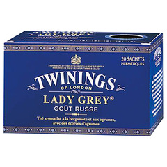 The Lady Grey, la boite de 20 sachets - 40g