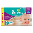 Pampers active fit duopck 2x47 taille 5