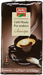 Belle France 58404 Café Moulu Dégustation 100% Arabica 250 g - Lot de 6